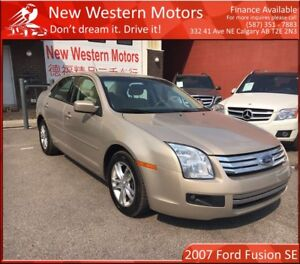 2007 Ford Fusion SE LOW LOW KM! REMOTE START! LIKE NEW!
