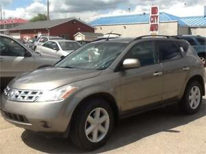 2004 Nissan Murano SL 169KMS $5000 MIDCITY 1831 SASK AVE