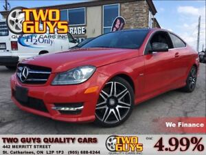2014 Mercedes-Benz C-Class C250 SPORT PACKAGE!! PANOROOF