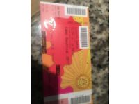 Teenagers Bestival ticket 27th-30th