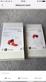 Bugaboo donkey tailored fabric set with additional sun canopy - brand new in box