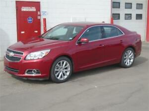 2013 Chevrolet Malibu LT -- 66k, Sunroof, Leather -- $13,900