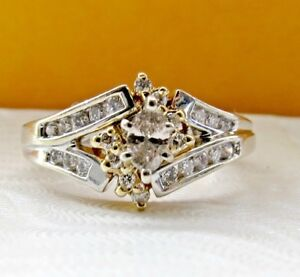 Gorgeous Diamond Engagement Ring Appraised at $1650
