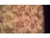 Beautiful Gold/Burgundy Pair Door curtains- Professionally made