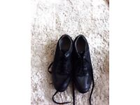 Leather shoe by boss