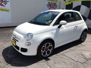 2016 Fiat 500 Sport, Automatic, Leather, Power Group