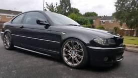 BMW 320cd M Sport E46 Black Coupe Diesel