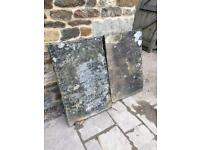 2x Reclaimed yorkstone flags (same sizes)