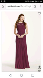 In search of bridesmaid dress