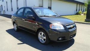 2008 CHEVY AVEO LT-ZERO ACCIDENTS,A/C,SUNROOF,AUX STEREO