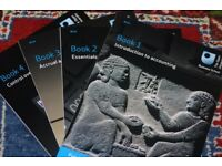 Open University B124 Fundamentals of Accounting. Books 1-4.