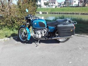 1975 BMW R90/6 motorcycle