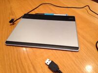 Wacom Intuos Graphics Tablet and Stylus Pen
