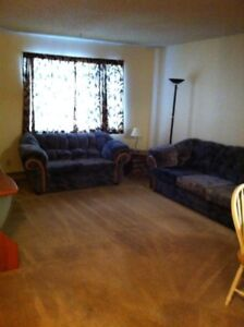 Furnished comfortable, good location condo for rent.