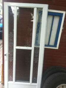 $175 obo  RH Storm door great shape 32x80