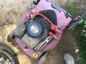 Mower for spares (marks tey)