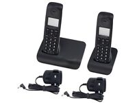 Dect twin cordless phones