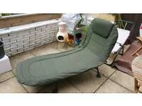NGT Carp coarse fishing deluxe lightweight bedchair