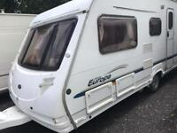 Sterling europa 2006 fixed bed with motor mover touring caravan