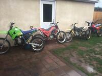 4 Motorcross motorbike