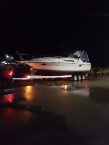 """My wife got """"2 footitis"""" 29' '88 thundercraft boat with"""