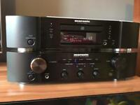 Marantz Amp + cd player + more