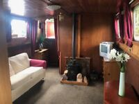 Commercially built 40x12 Widebeam liveaboard. Houseboat