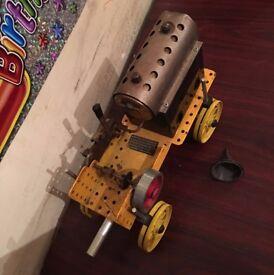 mericano steam train vintage collectable set