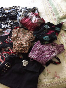 Ladies Tops Sz L and XL (some M) - Blouses - Excellent Condition