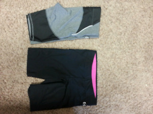 Woman's athletic shorts
