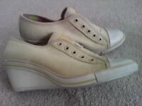 Trainers wedges Nine West