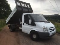 *** ford transit tipper 57 plate swap px car van ***