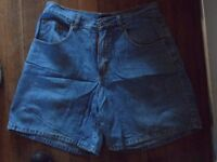 Jeans West Blue Demin Shorts - Size 10 - £10