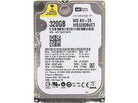 Western Digital WD3200BUCT 320GB 2.5 Sata Laptop HDD