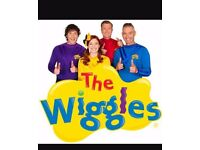 Wiggles tickets August 4th