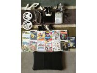 Nintendo wii console all accessories and games