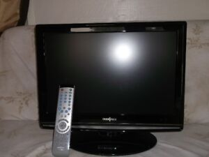 Insignia 19 inch TV with DVD player