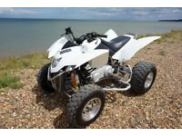 Quadzilla road legal quad bike 320cc 2012 white. Like new