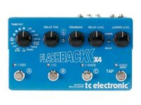 TC electronic 4x 4 flashback delay