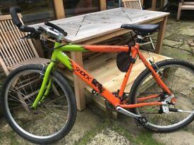 Lightweight Hybrid Mountain Bike - just serviced