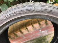 Tyre for sale accelera 245/35 R19