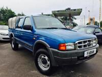 2002 Ford Ranger 2.5TD 4x4 Pick-Up Double Cab **Very Clean Straight Example**
