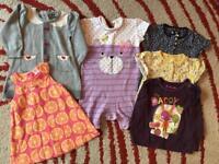 6-12/9-12 Month Girls bundle