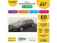 Grey AUDI A4 AVANT ESTATE 1.8 2.0 TDI Diesel SPORTS LINE FROM £51 PER WEEK!