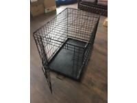 Dog puppy crate cage pen carrier medium