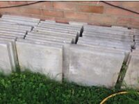 Grey Concrete Slabs
