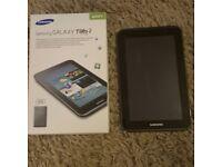 Samsung tablet tab 2 like new