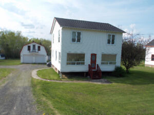 Waterfront property, Dalhousie Junction, NB, 4 bed, 2 bath home
