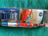 cars electric rechargeable toothbrush from age 5