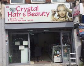 beauty salon for rent in busy hounslow highstreet running business